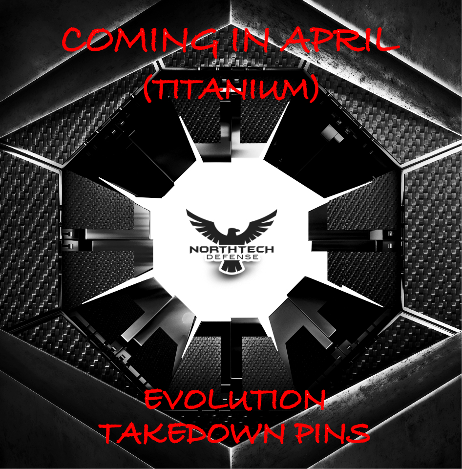 Ti-Takedown Pin Set- EVOLUTION AR15/M16 (Titanium)
